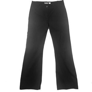 Betabrand Pull On Black Dress Pants Size Large